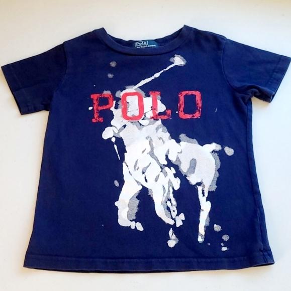 Boy's POLO RALPH LAUREN 4T Tshirt T-Shirt Tee